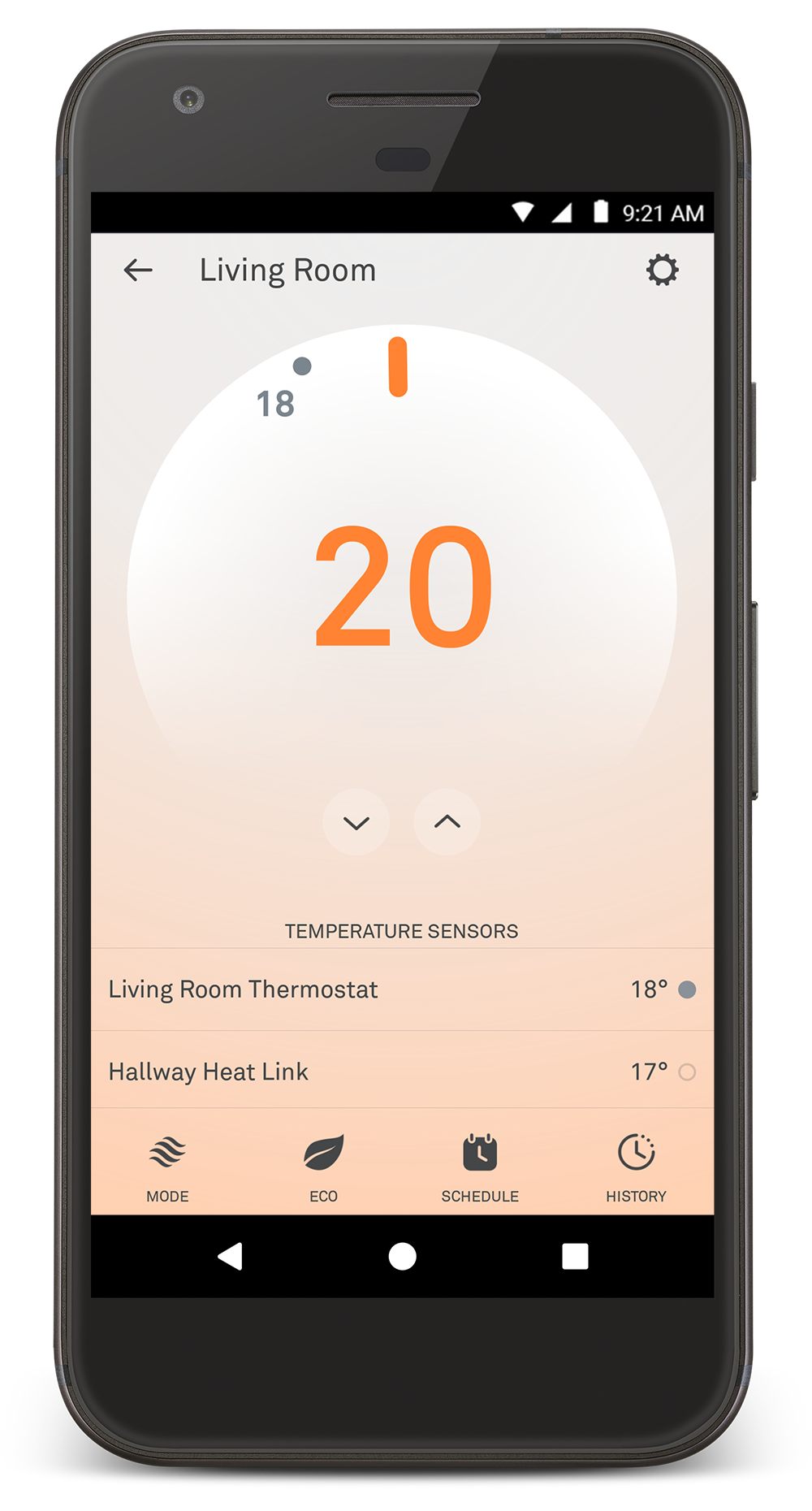 Learn About What Youll See On Your Nest Thermostat How To Control An Electric Fan With A Factory Thermoswitch Apps Learning